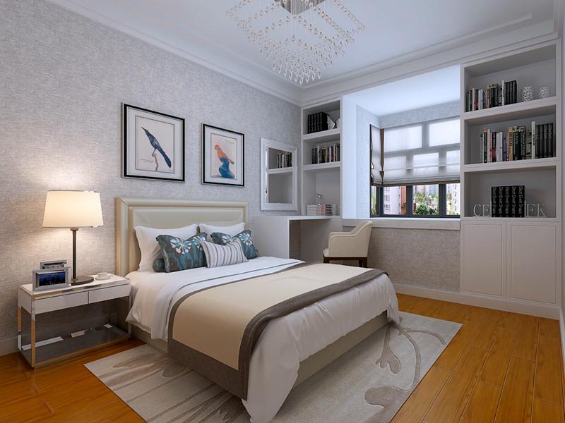 二居 小资 旧房改造 收纳 白领 现代简约 卧室图片来自小二宝子在哈尔滨实创7万装红星嘉园现代的分享