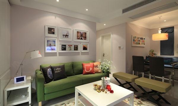 简约 现代 二居 温馨 沪上名家 客厅图片来自沪上名家装饰在甜蜜婚房,过日子的最佳选择!的分享