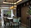 金地艺境160平新中式风格