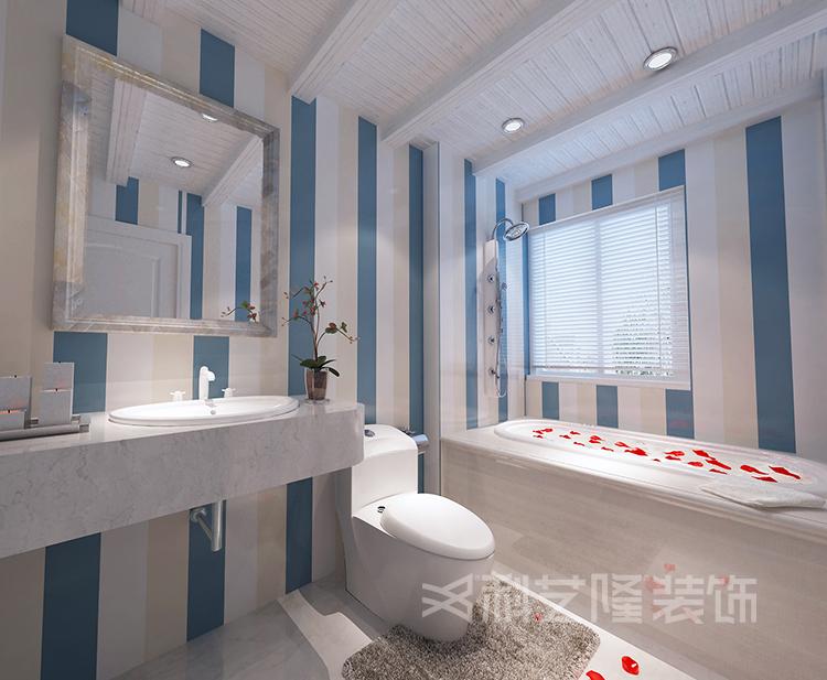 卫生间图片来自天津科艺隆装饰在翠金滩美墅岛-190㎡-地中海风格的分享