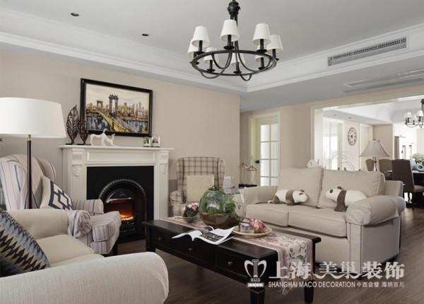 永威翡翠城现代简约风格装修效果图赏析3室2厅160平户型设计——沙发布局