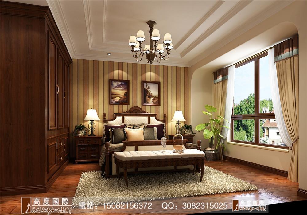 美式风格 高度国际 成都装修 新房装修 装修图片 卧室图片来自成都高端别墅装修瑞瑞在美式风格----高度国际装饰的分享