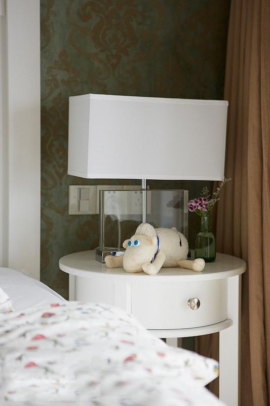 美式 屌丝 小清新 小资 卧室图片来自一号家居网成都站在77㎡清新美式小2居 开放式厨房的分享