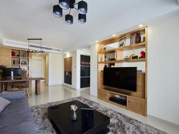 90平现代简约两室 透着时尚气质