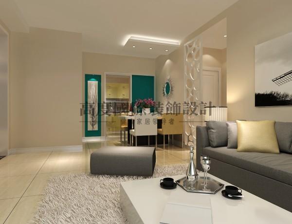 【高清】两居室现代风89㎡汇锦城 客厅装修设计  成都高度国际装修设计