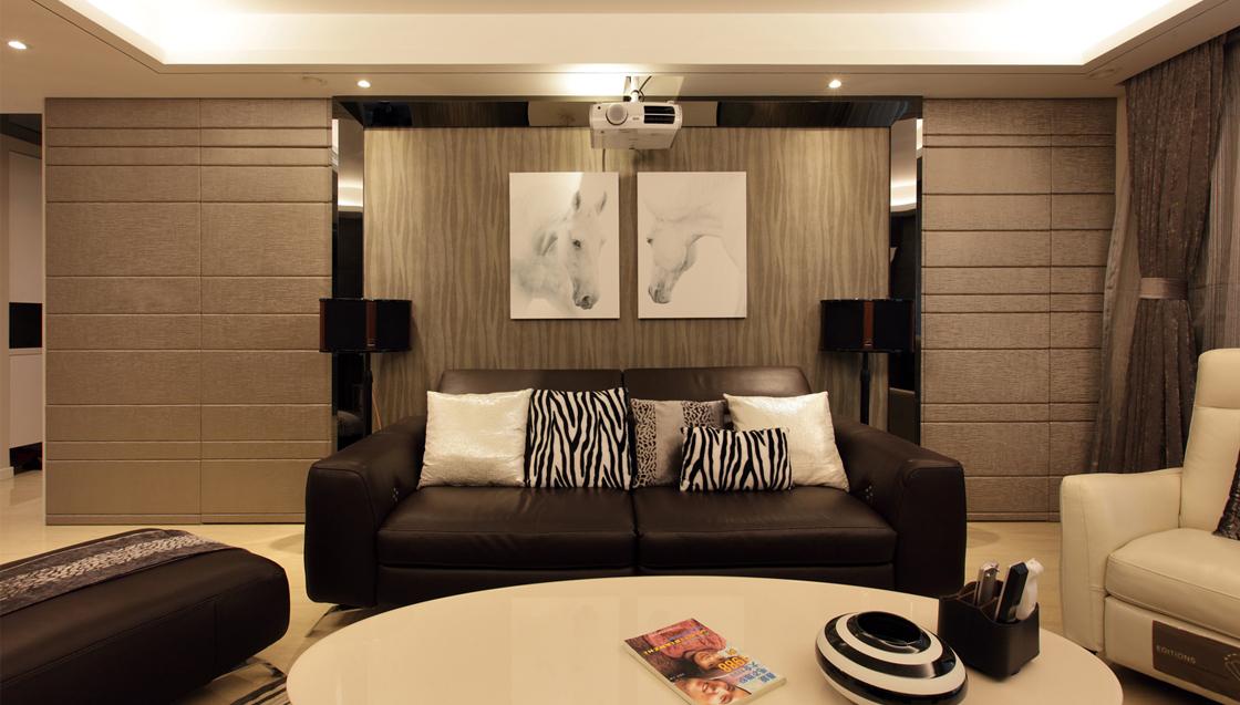 客厅图片来自二十四城装饰重庆分公司在上海城的分享