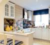 厨房:设计以功能实用性为主导,时尚大气。