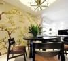 120平米三室户型新中式风格