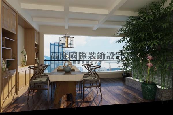 【高清】英伦联邦里面的现代风格 阳台装修设计   成都高度国际装饰设计