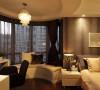 卧室:弧形飘窗,结合了书房,功能上恰到好处。
