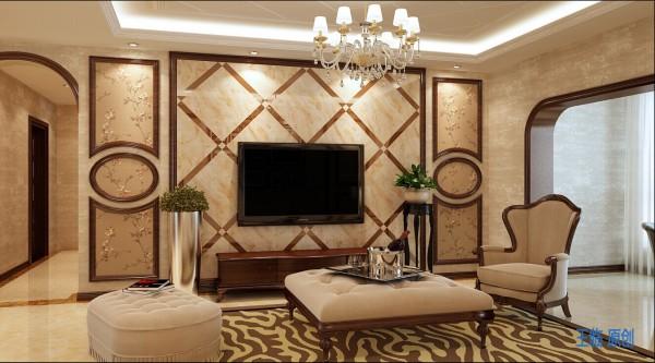 西安融侨城-140平三居室-欧式风格(本小区装修设计82套)