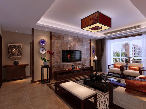 西安融侨城-136平三居室--新中式风格(本小区装修设计86套)