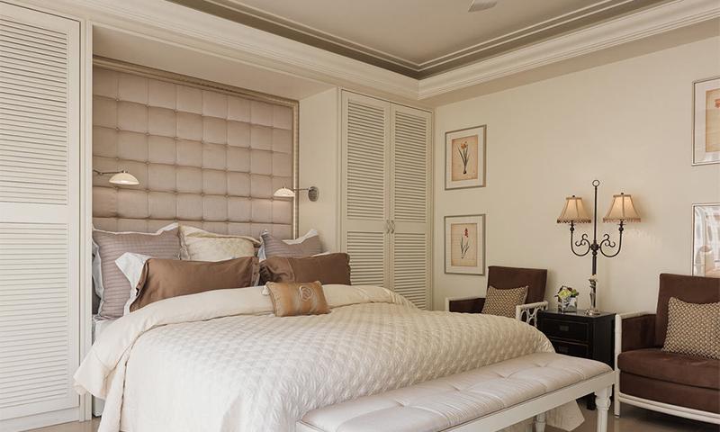 三居 旧房改造 白领 收纳 现代 卧室图片来自二十四城装饰重庆分公司在城市之光的分享