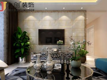 富力盈通93㎡ 现代简约装饰设计