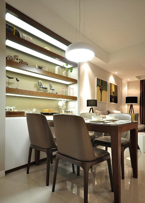 简约 二居 80后 小资 餐厅图片来自二十四城装饰重庆分公司在翔龙江畔的分享