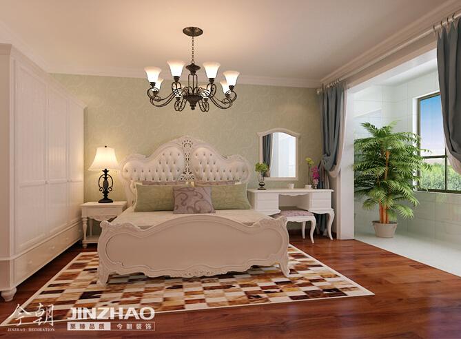 卧室图片来自石家庄装饰家美1在【石家庄装修】金域蓝湾的分享