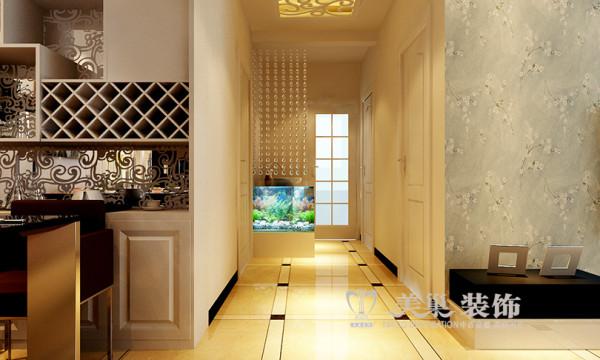 南阳东华新村装修效果图赏析三室两厅110平户型案例鉴赏——走廊设计