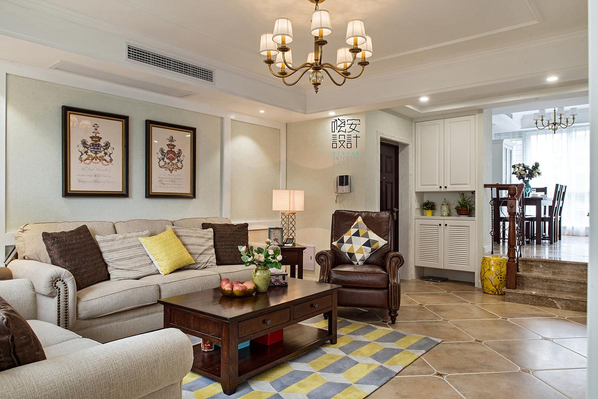 80后 小资 客厅图片来自周晓安在今日家园-现代美式的分享