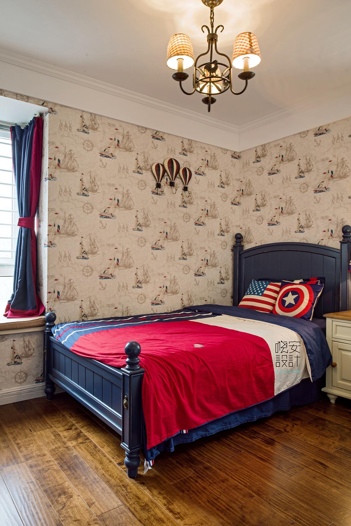 80后 小资 卧室图片来自周晓安在今日家园-现代美式的分享