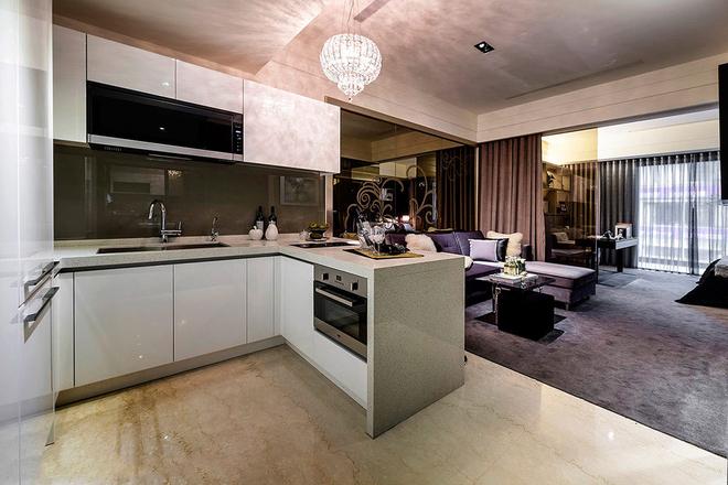 厨房图片来自一号家居网成都站在60平梦想小豪宅的分享