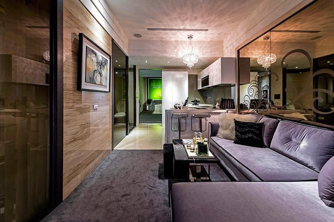 客厅图片来自一号家居网成都站在60平梦想小豪宅的分享