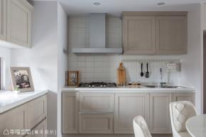 二居 新古典 旧房改造 收纳 厨房图片来自幸福空间在132平淬炼现代与新古典之美的分享