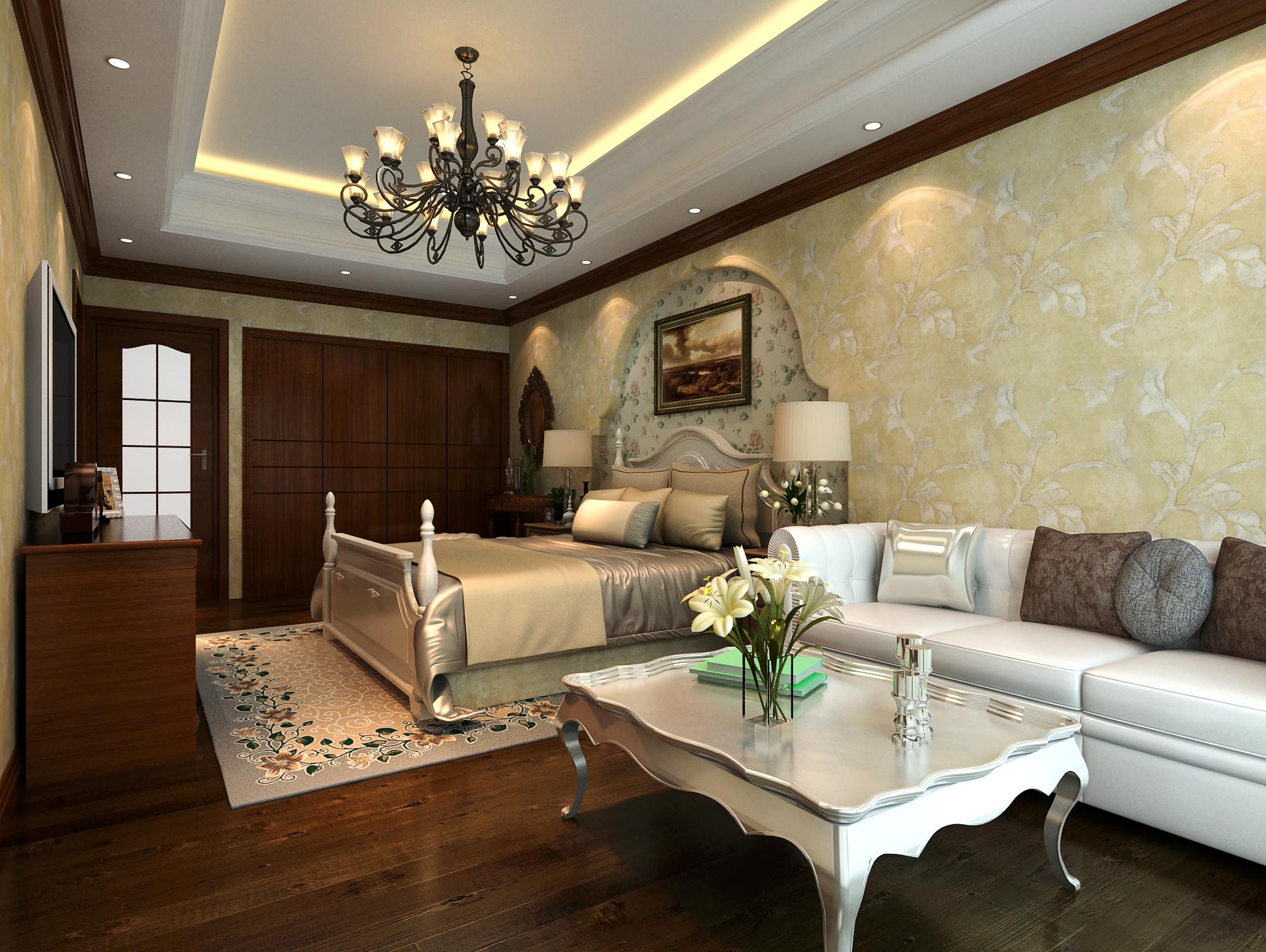欧式 别墅 小资 80后 卧室图片来自我以为傻子不会悲伤在看   欧式风格  你喜欢吗?的分享