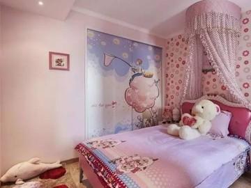 温馨简洁72平三口之家两居室!