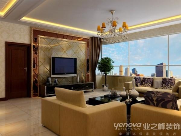 本案的设计风格采用现代简约的设计手法来体现整个家居的舒适感,整个房间的采光相当好,利用这一特点,在装饰设计的手法上采用了暖色调背景色和局部采用深色来点缀和对比来突出视觉重点,
