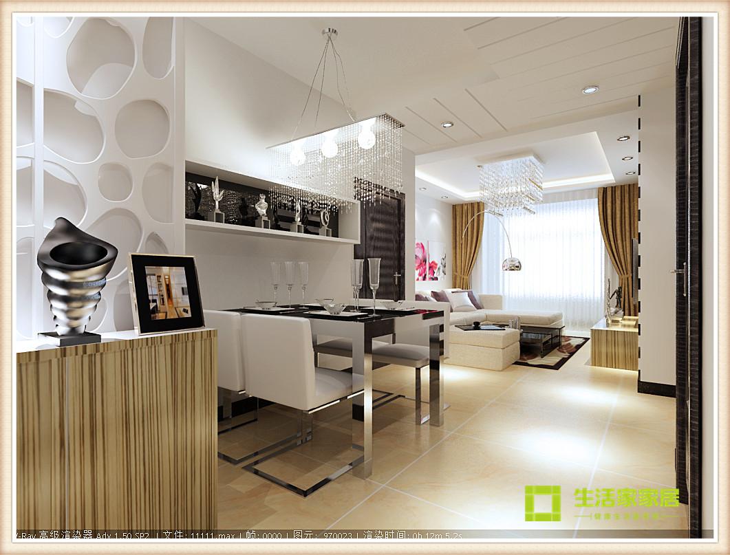 简约 现代 二居 白领 收纳 80后 旧房改造 小资 天津装修 餐厅图片来自天津生活家健康整体家装在诺德中心现代简约风格的分享