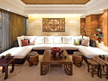 鲁润静园新中式两室112.96㎡