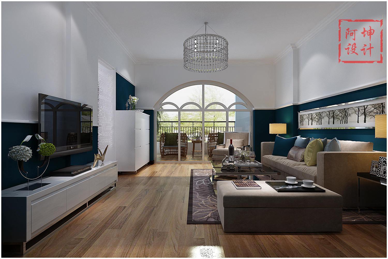 诺沙湾别墅 青岛实创 实创装饰 青岛装修 客厅图片来自实创装饰集团青岛公司在诺沙湾别墅的分享