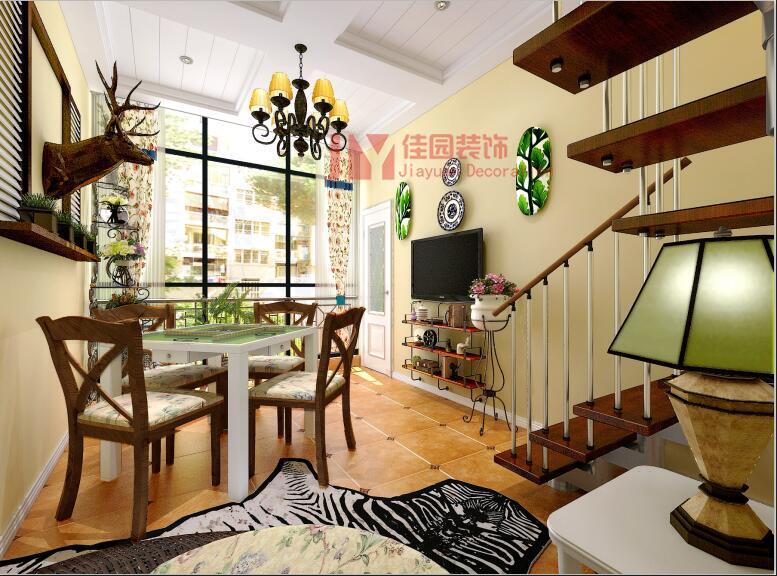 田园 混搭 其他图片来自佳园装饰在龙湾国际田园混搭风格装修案例的分享