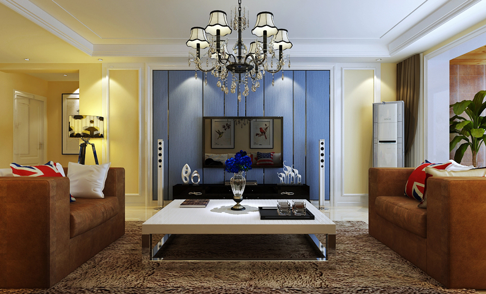 三居 简约 客厅图片来自乐豪斯装饰张洪博在奥北公元168平米现代风格装修的分享