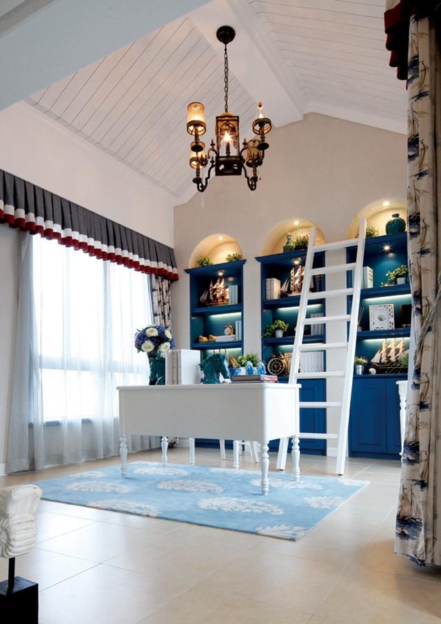 书房图片来自朗润装饰工程有限公司在芙蓉古城装修263.00㎡地中海风格的分享
