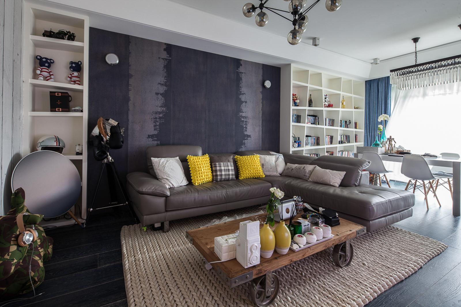 简约 别墅 黑白灰 宜居 客厅图片来自一号家居网成都站在翠湖天地的分享