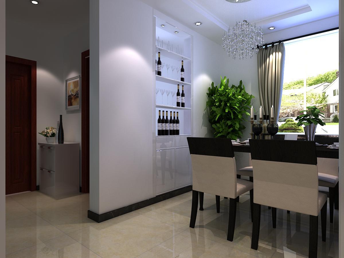 现代 简约 餐厅图片来自今朝小徐在天山熙湖101㎡现代简约案例赏析的分享