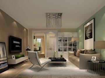 大宁山庄130平米现代简约公寓