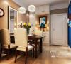 升龙玺园89平两室田园风格装修图