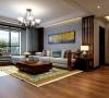 客厅的沙发墙面整体装修设计效果图