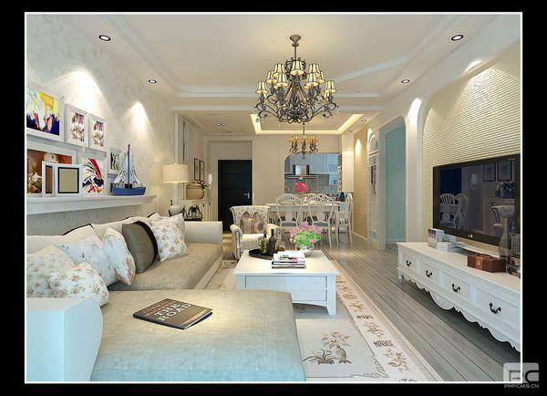 田园 三居 白领 小资 客厅图片来自贵州雅美居装饰装修在【金龙星岛国际】王先生家案例的分享