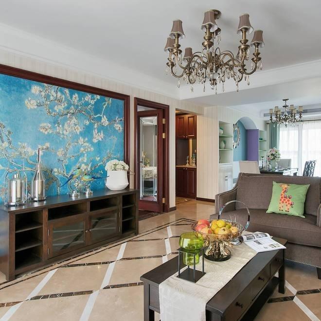 地中海 美式 五居 沪上名家 客厅图片来自沪上名家装饰在美式地中海结合打造完美复古情的分享