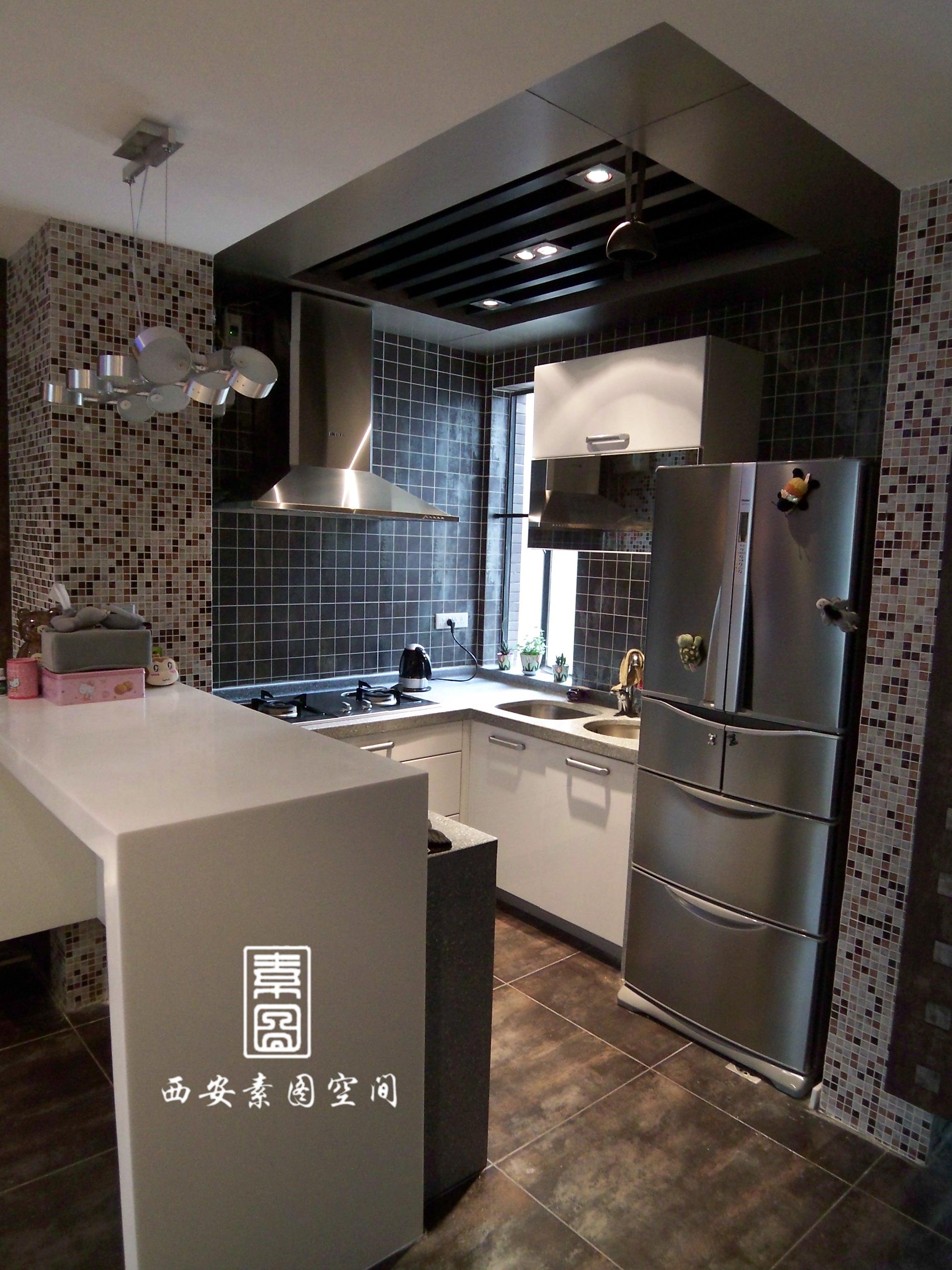 简约 混搭 白领 小资 80后 厨房图片来自Edwardlijie在宁静致远的分享