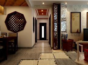 走廊 玄关 花格 其他图片来自乐豪斯装饰张洪博在天海98两室户型中式风格的分享