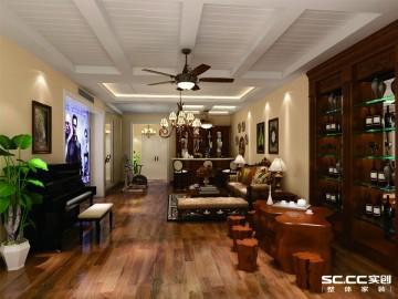 理想装满家 200平美式别墅