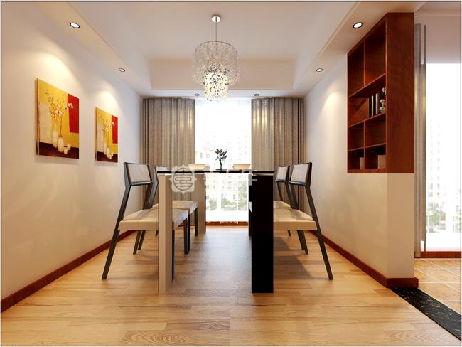 现代 三居 白领 80后 餐厅图片来自贵州喜百年装饰工程有限公司在【陈曾一】现代风格案例的分享