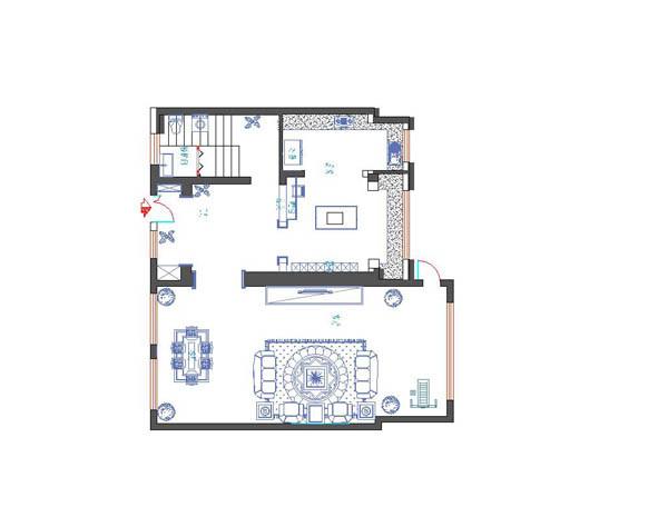 梧桐苑250平米别墅户型图