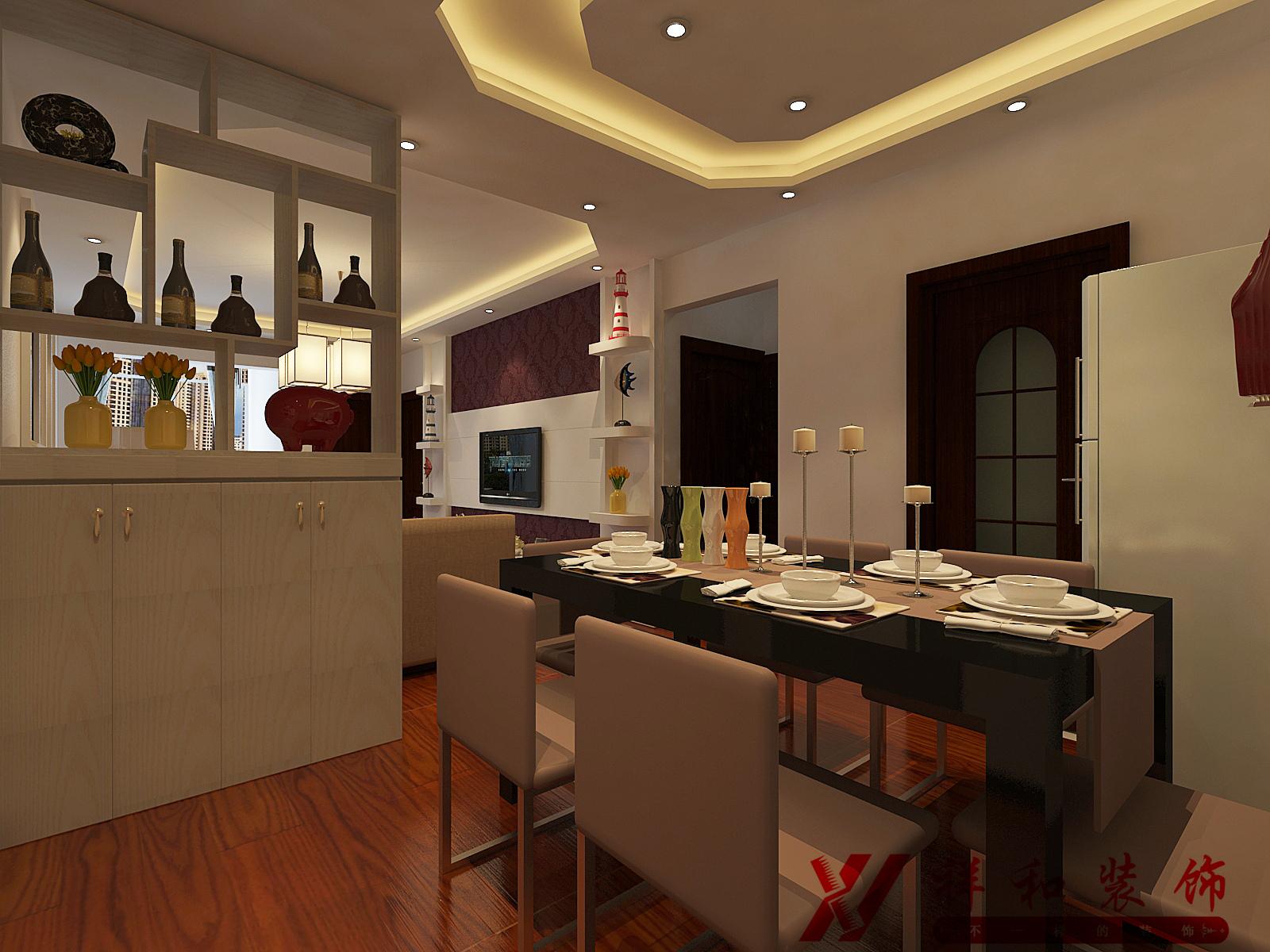 混搭 三居 80后 中式 餐厅图片来自贵阳祥和装饰在【花果园】T1区10栋1单元1808号的分享