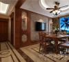 天鹅堡203平米美式风格设计图
