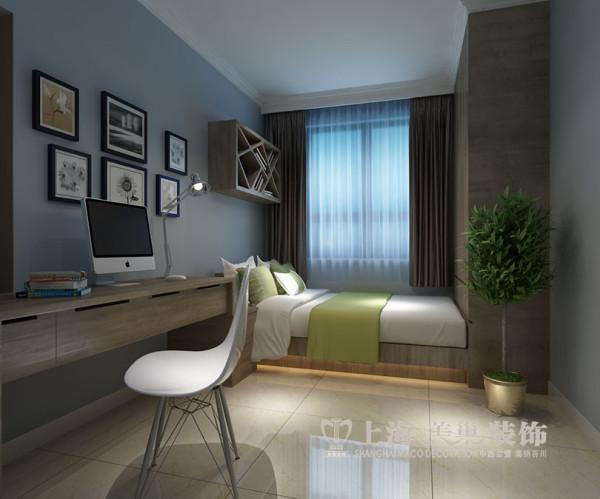 名仕嘉园3室2厅现代装修130平效果图案例——书房布局